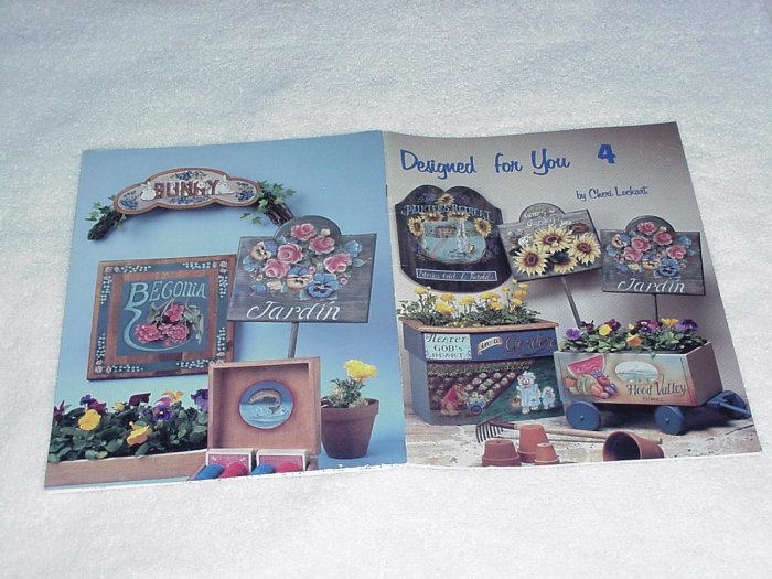 Designed for You 4 ~ Decorative Painting Booklet ~ 1993
