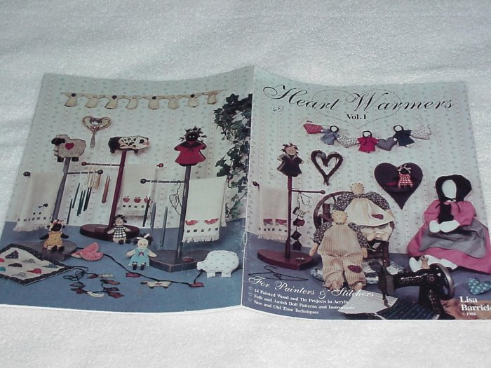 Heart Warmers ~ Decorative Painting Booklet ~ 1986