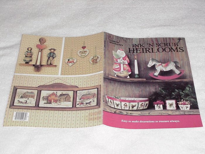 Ink 'n Scrub Heirlooms ~ Decorative Painting Booklet 85