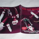 Mini Pot Bellies ~ Decorative Painting Booklet ~ 1993