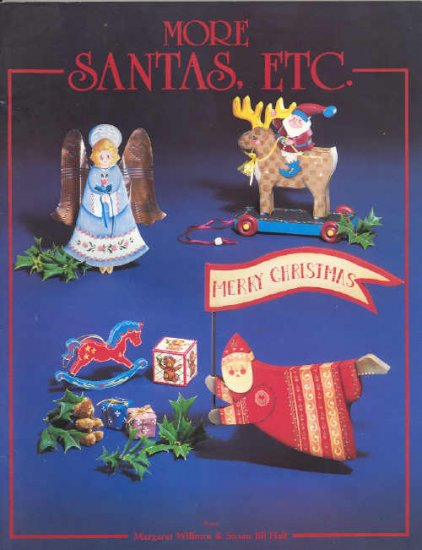 More Santas etc ~ Decorative Painting Booklet ~ 1985