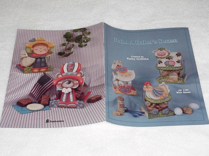 Paint a Baker's Dozen ~ Decorative Painting Booklet 1988