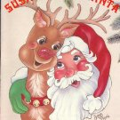 Susan Loves Santa ~ Decorative Painting Booklet ~ 1992