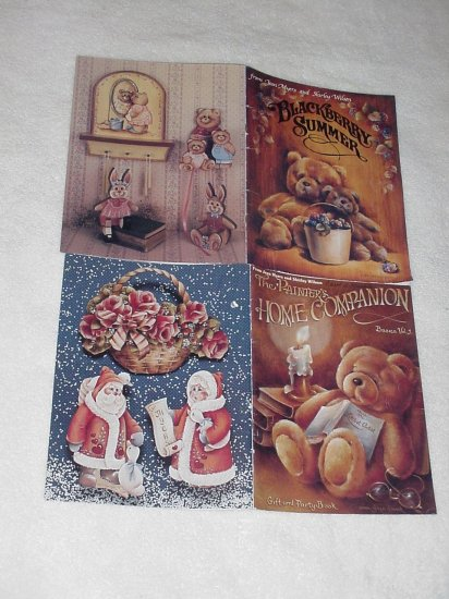 Blackberry Summer & The Painter's Home Companion ~ 2 Decorative Painting Books