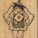 Rag Doll Angel ( Quinn ) ~ Rubber Stamp ~ NEW