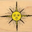 Sun ~ Rubber Stamp ~ NEW