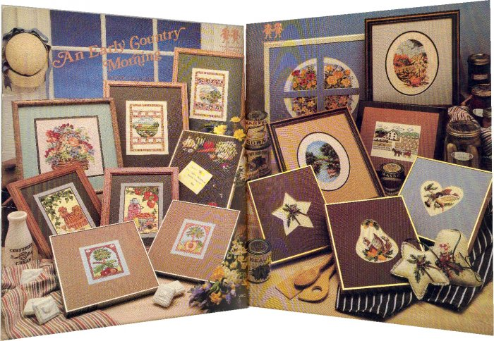 An Early Country Morning ~ Cross-Stitch Chart 1982