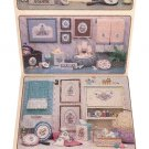 Bath Collections 4 Themes ~ Cross-Stitch Chart ~ 1985