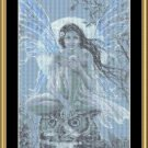 Blue Moon Faery ~ Cross-stitch Chart ( Fairy )
