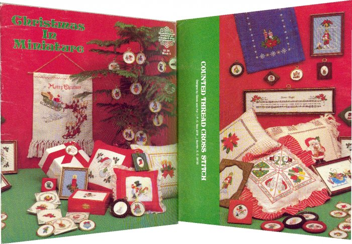 Christmas in Miniature ~ Cross-Stitch Chart ~ 1978