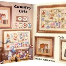 Country Cats Cross-Stitch Chart 1983