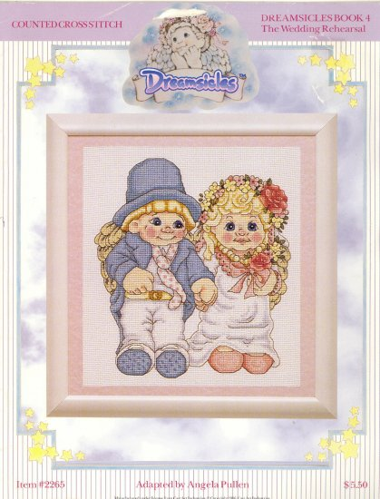 Dreamsicles The Wedding Rehearsal ~ Cross-stitch Chart