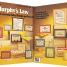 Murphy's Law and Other Reasons Why Things Go Wrong ~ Cross-Stitch Chart 1984