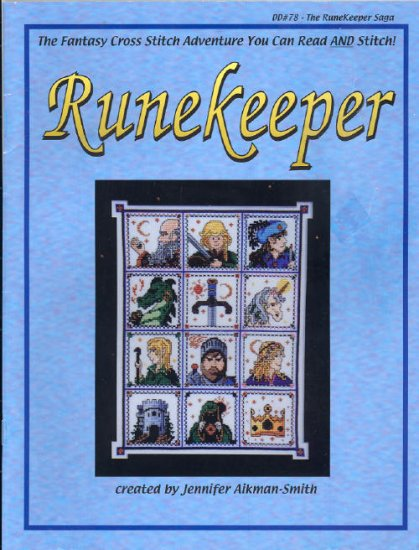 Runekeeper ( Fantasy ) ~ Cross-stitch Chart