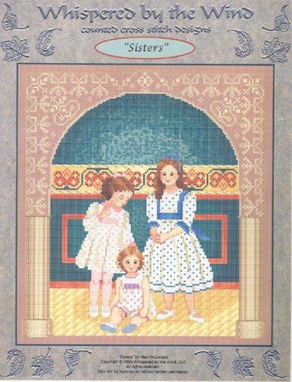 Sisters ~ Cross-stitch Chart