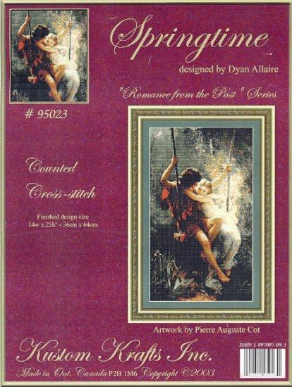 Springtime ( Romance of the Past ) ~ Pierre Auguste Cot ~ Cross-stitch Chart