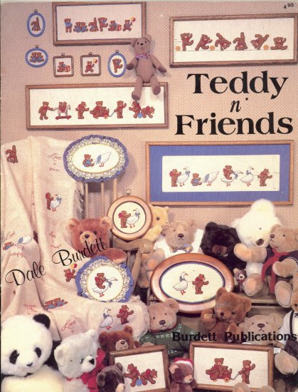 Teddy n' Friends Cross-Stitch Chart 1984