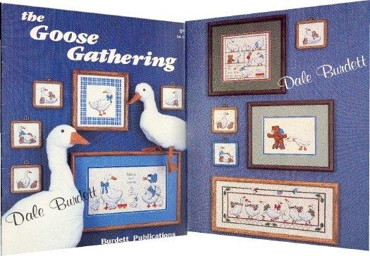 The Goose Gathering ~ Cross-Stitch Chart 1988