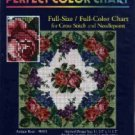 Antique Roses ~ CHART for Cross-Stitch and Needlepoint