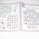 ABC's for Mother & Daughter ( Alma Lynne ) ~ Cross-stitch Book