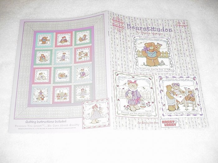 Bearatitudes by Dianna Marcum ~ Cross-Stitch Book