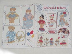 Cherished Teddies ~ Circus on Parade ~ Cross-Stitch Book