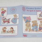 Cherished Teddies ~ The Spirit of America ~ Cross-Stitch Book