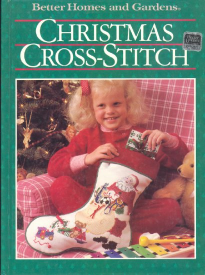 Christmas ~ Cross-Stitch Book 1987