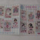 Little Bits ~ Cross-stitch Book by Alma Lynne