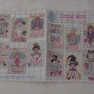 Little Bits ~ Cross-stitch Book by Alma Lynne