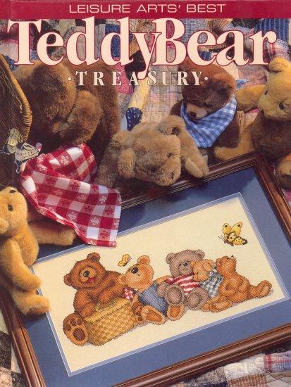 Teddy Bear Treasury ~ Cross-stitch Book 1997