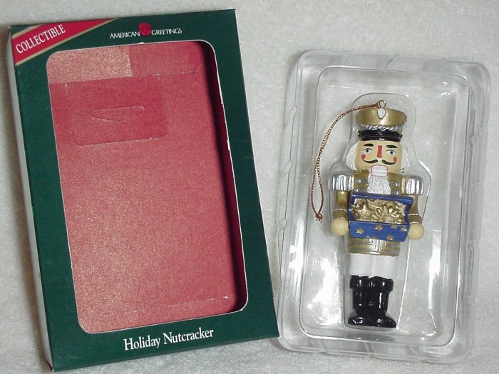 American Greetings Ornament ~ Holiday Nutcracker