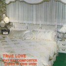 True Love ~ Fat Bat Comforter + Pillows & Dust Ruffle