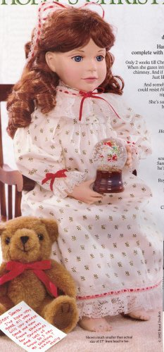 Holly's Christmas Wish Doll by Joan Pilallis ~ 1993