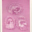 Little Ladies of Long Ago ~ Hoop Wall Decor Pattern ~ 1986