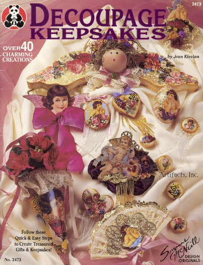 Decoupage Keepsakes ~ Book 1994