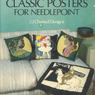 Classic Posters for Needlepoint ~ Book 1978