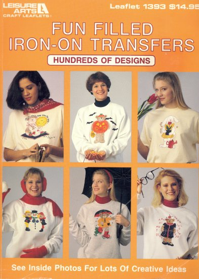 Fun Filled Iron-On Transfer ~ 1992 Book ~ Bears & Bunnies
