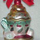 Lenox Glass Ornament ~ Tea Party Tea Cup 2002