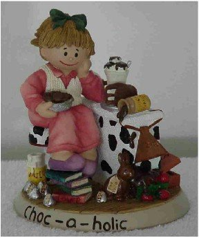 Zingle Berry Figurine ~ Choc-A-Holic