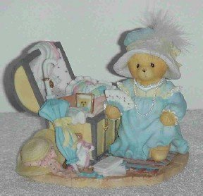 Cherished Teddies Figurine ~ Kaitlyn ( Limited Edition & Retired )