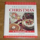 Treasury of Christmas ~ 3 Cookbooks in 1 ~ 2000