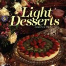 Light Desserts ~ Hardcover Cook Book 1989