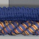 3/8 Mingled Cord ~ 8 + yards ~ Blue Tan & Rust
