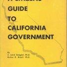 A Citizens Guide to California Government ~ Book 1955