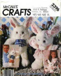 McCall's # 2396 ~ Boy & Girl Bunnies