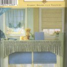 Window Treatments ~ Simplicity 8353 ~ 1999