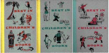 Best in Children's Books ~ 3 Books 1958 1960 & 1961