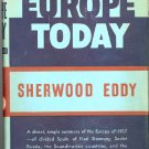 Europe Today by Sherwood Eddy ~ Book 1937