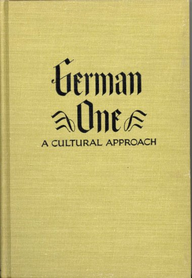German One A Cultural Approach ~ Book 1949